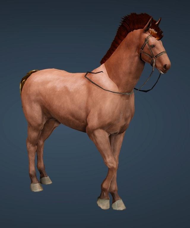 BDO Fashion | [Tier 4] Horse (Black Desert Online)