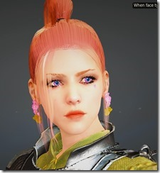 BDO Fashion Cherry Blossom Earring Black Desert Online