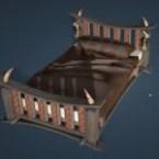 Khuruto-Style Bed