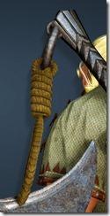 Lahr Arcien Ornamental Knot Stowed