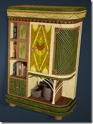 Palm Tree Bookshelf