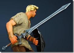 Acher Guard Longsword Drawn Warrior