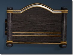 Keplan Marble Decorated Bed Back