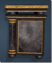 Keplan Marble Decorated Bedside Side
