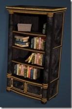 Keplan Marble Decorated Bookshelf