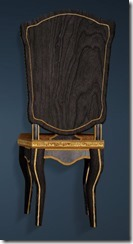 Keplan Marble Decorated Chair Back