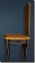 Keplan Marble Decorated Chair Side
