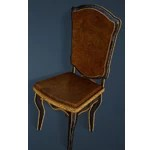 Keplan Marble Decorated Chair