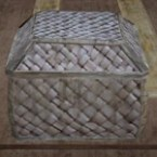 Square Basket with Cover