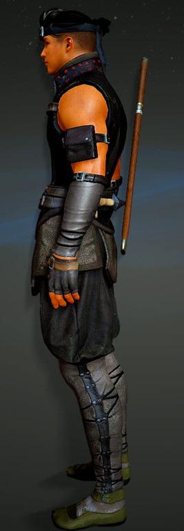 Black Sorceress Armor Desert Online