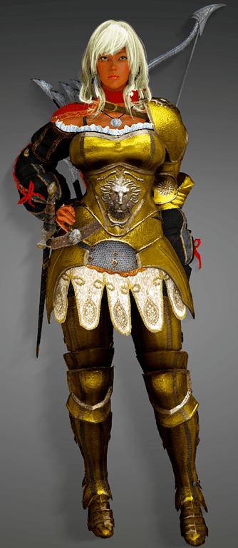 Black Desert Online Jarettes Armor