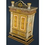 Calpheon Marble and Gold Wardrobe
