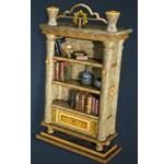 Calpheon Marble and Gold Bookshelf