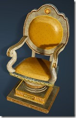 Calpheon Marble and Gold Chair