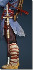 Cataphract Blade Stowed