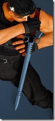 Canape Short Sword Ninja Drawn