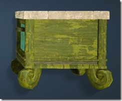 Goblin-style Bedside Table Side