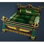 Naga Decorated Bed