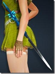 Sylvia Elven Sword Stowed