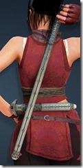 Vixen Short Sword Stowed