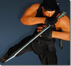 Acher Guard Shortsword Drawn Ninja