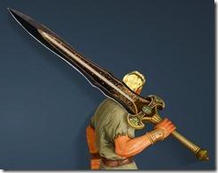 Bolyn Great Sword Drawn