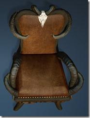 Goat Horn Chair Top