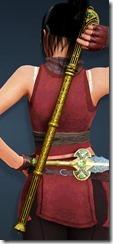 Karin Short Sword Stowed Kunoichi