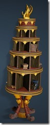 Kzarka Decorated Bookshelf