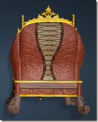Kzarka Decorated Chair Back