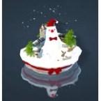 Christmas Snowman Snowball