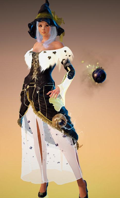 Black Desert Online Witch Willow Branches BDO Fashion