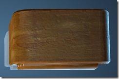 Natural Log Bedside Table Top