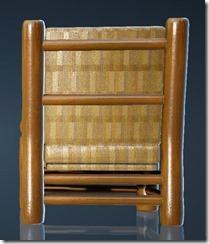 Natural Log Chair Back