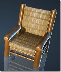 Natural Log Chair