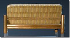 Natural Log Sofa Back
