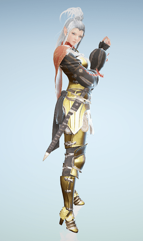 BDO Fashion | [Dark Knight] Jarrett's Armor (Black Desert