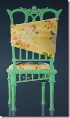Spring Flower Chair Back