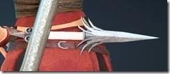Crown Eagle - KN Kunai Stowed