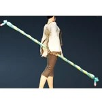 [Tamer] Water Lily Celestial Bo Staff