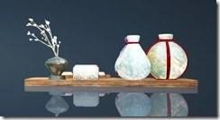 Haso Teaware Tea Table Rear