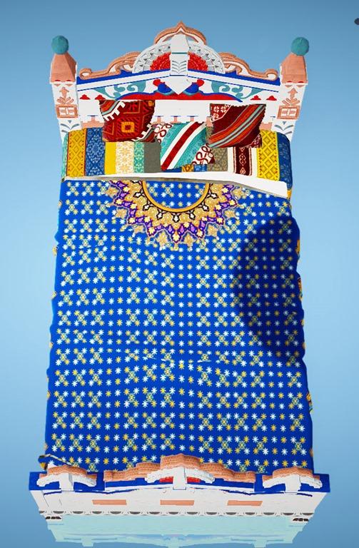 BDO Fashion | Masenka Bed (Black Desert Online)