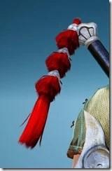 Berserker Red Robe Ornamental Knot Drawn
