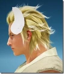 White Bunny Ears Side