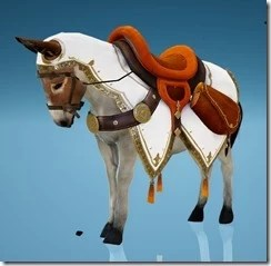 Donkey Wild Carrot Barding