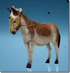 Donkey Wild Carrot Champron