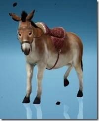 Donkey Clip-Clop Gear Saddle