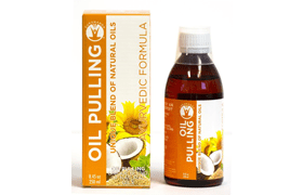 Natural Pulling Oil Mouthwash by GuruNanda
