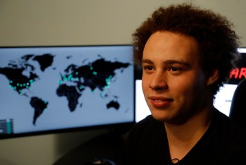 CORRECTION Britain Global Cyberattack