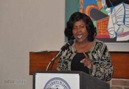 Dr. Margaret Wood delivers 5G Industry Welcome Address